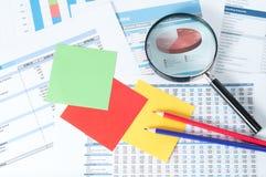 Финансовые документы Стоковое фото RF