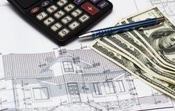 Финансовые планы Стоковая Фотография RF