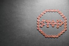 Финансовый знак стопа Стоковые Фотографии RF