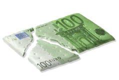 Финансовый кризис Стоковое Фото
