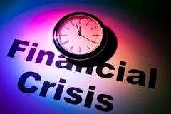 Финансовый кризис Стоковые Изображения RF