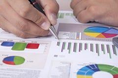 Финансовый отчет стоковые фотографии rf