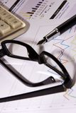 финансовый отчет стоковые изображения rf