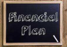Финансовый план Стоковая Фотография