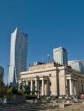 Финансовый район Варшавы (Польша) Стоковая Фотография