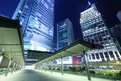 Финансовый район в Гонконге стоковое фото rf