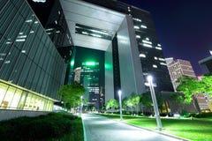 Финансовый район в Гонконге стоковые фотографии rf