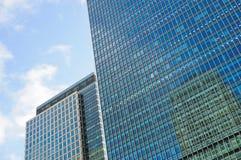 Финансовый район в Лондоне Стоковое фото RF