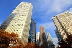 Финансовый район в токио стоковая фотография