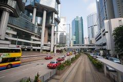 Финансовый район Гонконг ¡ Ð entral Стоковые Изображения