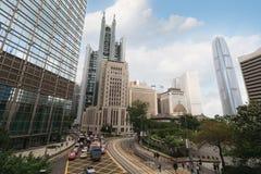 Финансовый район Гонконг ¡ Ð entral Стоковая Фотография