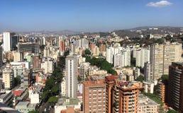 Финансовый район Sabana большой Каракаса Венесуэлы стоковое изображение rf
