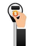 Финансовый собирая прибор Стоковые Изображения RF