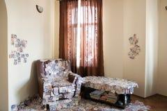 Финансовый успех комната вполне GBP фунта стерлинга Великобритании денег Стоковые Фото