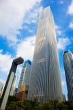 Финансовый центр 4 Гуанчжоу Zhou Dafu Стоковая Фотография