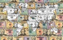 финансы гловальные Стоковые Фотографии RF