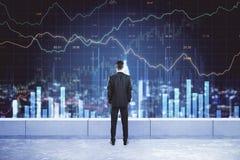 Финансы и концепция stats стоковые изображения