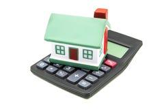 Финансы дома стоковая фотография rf