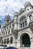Финансы отдела в Нью-Йорке, США стоковое изображение