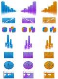 финансы экономии busienss Иллюстрация вектора