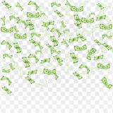 финансы яичка диетпитания принципиальной схемы предпосылки золотистые доллары дождя иллюстрация штока