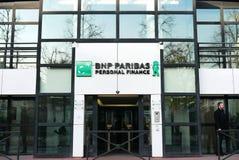 Финансы BNP Paribas личные Стоковое Изображение