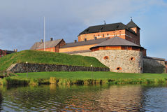Финляндия. Крепость Hameenlinna стоковая фотография