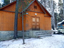 финские дома Стоковая Фотография RF