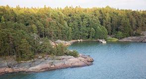 Финские острова приключение в Скандинавии стоковые фотографии rf
