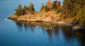 Финские острова приключение в Скандинавии стоковые фото