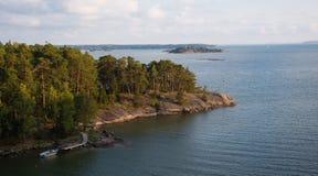 Финские острова приключение в Скандинавии стоковое фото