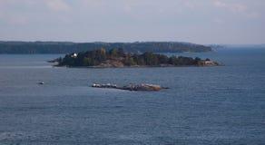 Финские острова Турку приключение в Скандинавии стоковая фотография