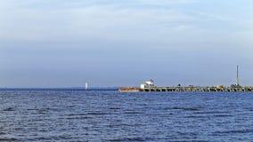 Финский залив на лете Стоковые Фото
