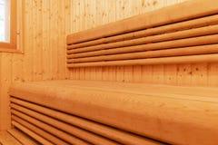 финский нутряной sauna классицистический sauna деревянный Финская ванная комната Деревянная кабина сауны Деревянная комната Пар с Стоковая Фотография