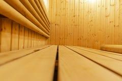 финский нутряной sauna классицистический sauna деревянный Финская ванная комната Деревянная кабина сауны Деревянная комната Пар с Стоковое фото RF