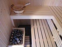 финский нутряной sauna Стоковое Фото