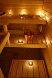 финский нутряной sauna стоковое фото rf