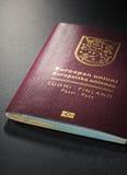 Финский пасспорт Стоковые Фото