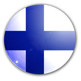 Финский флаг Стоковые Фотографии RF
