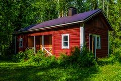 финский sauna стоковые изображения