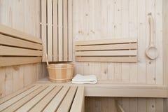 финский sauna Стоковое Изображение