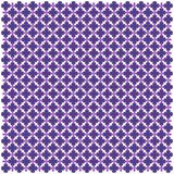 Фиолетовая арабская геометрическая безшовная картина голубой вектор неба радуги изображения облака Бесплатная Иллюстрация