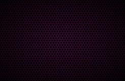 Фиолетовая геометрическая предпосылка полигонов, абстрактные металлические обои Стоковая Фотография