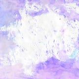Фиолетовая и белая предпосылка акварели иллюстрация вектора