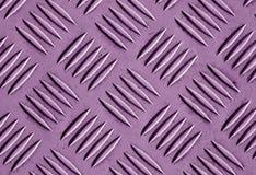Фиолетовая картина пола металла цвета Стоковое Изображение