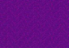 Фиолетовая предпосылка пиксела Стоковые Фотографии RF