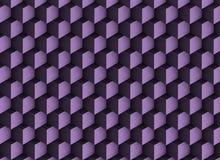 фиолетовая текстура 3d с тенями и кубами Стоковое фото RF