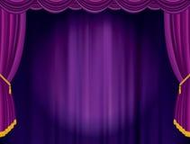 Фиолетовое расплывчатое пятно Стоковое Изображение RF