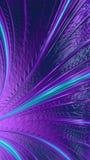 Фиолетовые пути стоковые фото