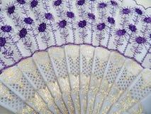Фиолетовый вентилятор Стоковая Фотография RF